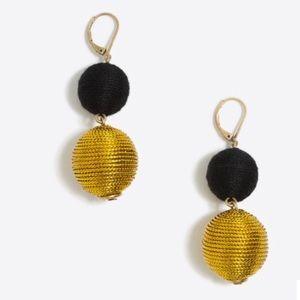 J crew lantern dangle earrings